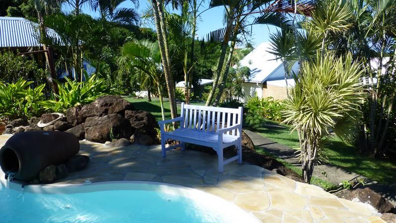 Le Jardin Tropical De Votre Bungalow En Guadeloupe Bleu Des Iles